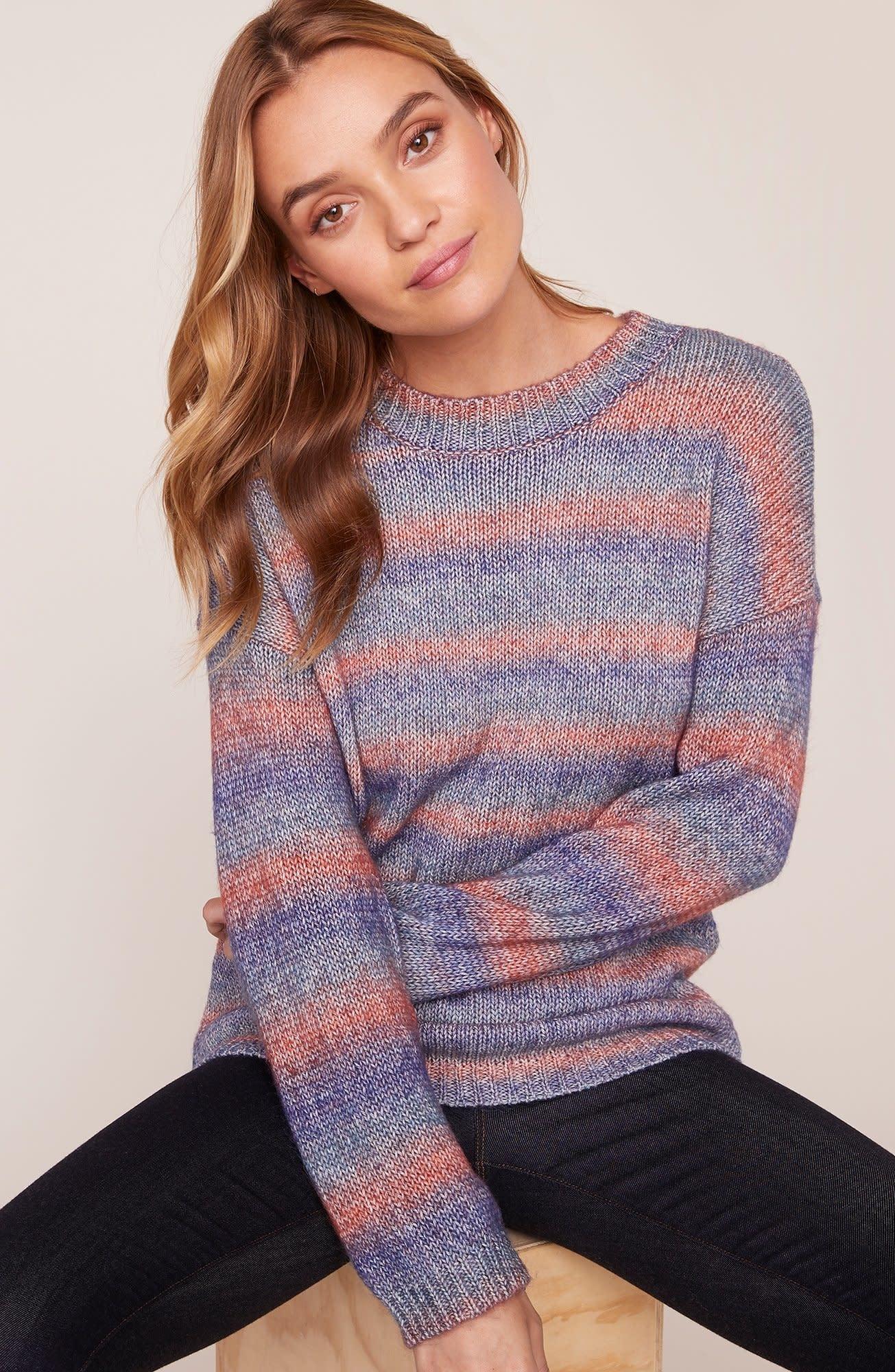 BB Dakota Give Me Space Stripe Sweater