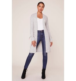 BB Dakota Tie Tryin' Tie Sleeve Cardigan