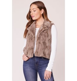Jack by BB Dakota Ain't It Fuzzy Faux Fur Vest