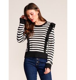 Jack by BB Dakota Mime Your Business Striped Sweater