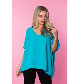 Crosby By Mollie Burch Lindley Tunic in Jazzy Teal