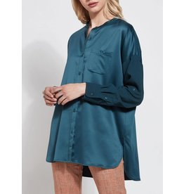 Lysse Kat Peacock Button Down