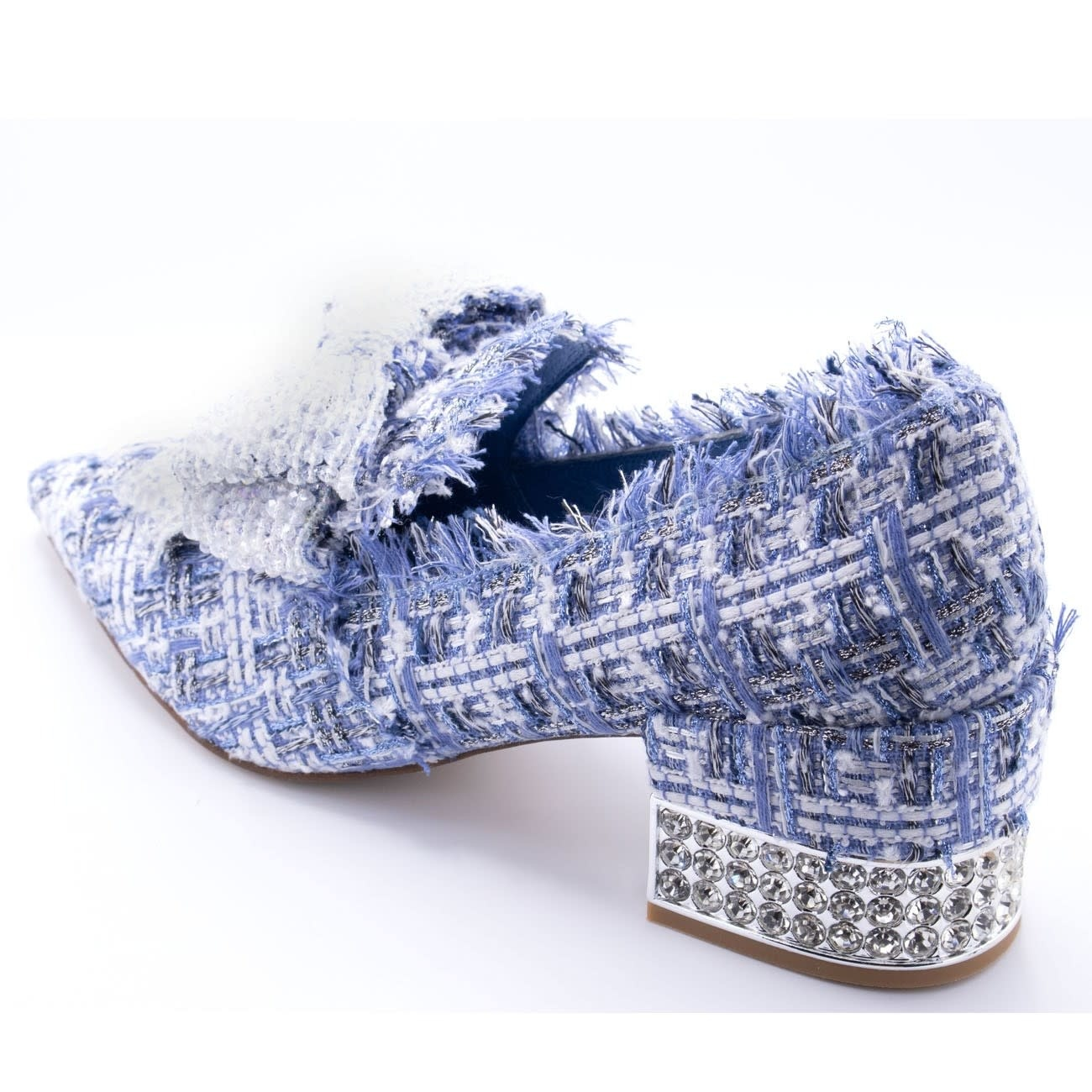 Jeffrey Campbell Valensia Blue Tweed