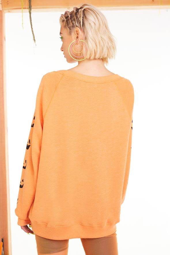 Wildfox Couture Smashed Pumpkin Sommers Sweatshirt