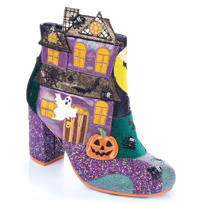 Irregular Choice Ghost House Boot
