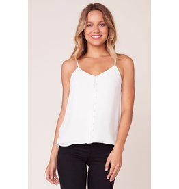 BB Dakota Crazy Little Thing Ivory Tank Top