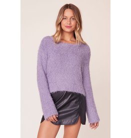 BB Dakota Get A Crew Lavender Sweater