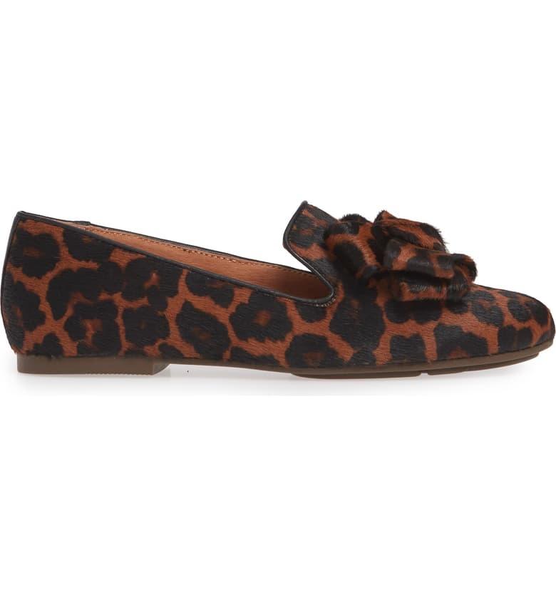 Gentle Souls Eugene Leopard Flat
