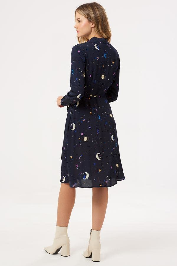 Sugarhill Brighton Zadie Astrological Nights Shirt Dress