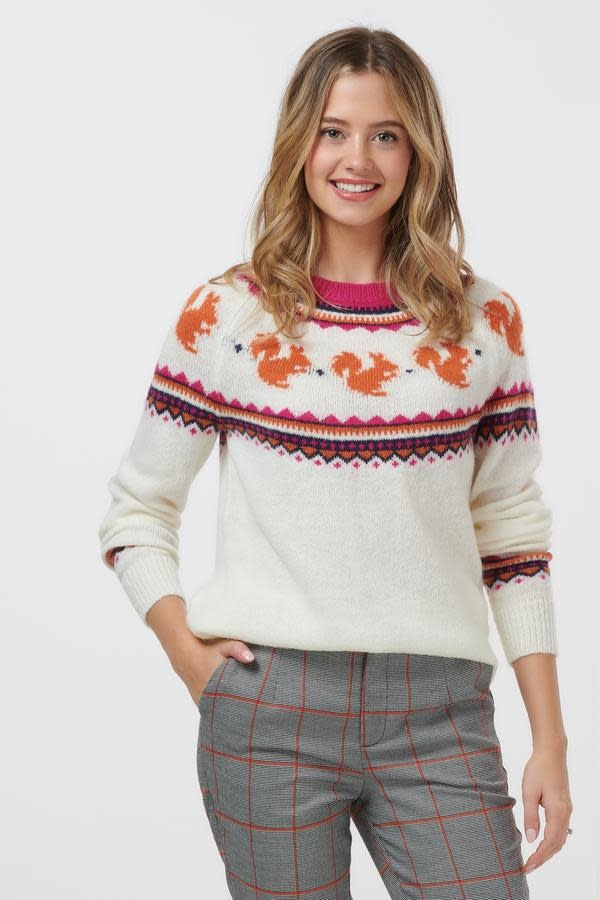 Sugarhill Brighton Winnie Nut About You Squirrel Sweater