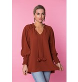 Crosby By Mollie Burch Louisa Tunic in Cinnamon