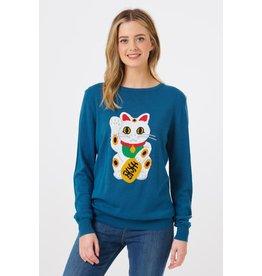 Sugarhill Brighton Rita Lucky Cat Sweater