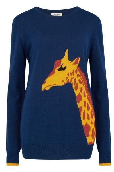 Sugarhill Brighton Rita Tall Stories Giraffe Sweater