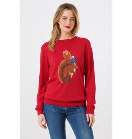 Sugarhill Brighton Rita Nuts About You Squirrel Sweater