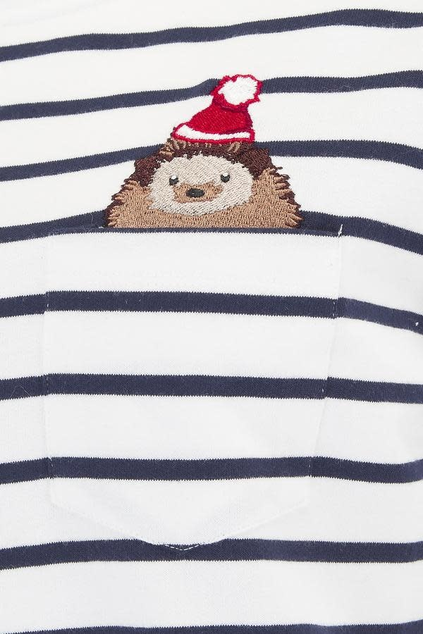 Sugarhill Brighton Brighton Hedgehog Santa Top