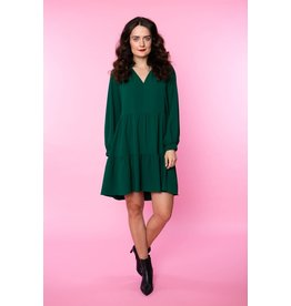 Crosby By Mollie Burch Belle Dress in Emerald