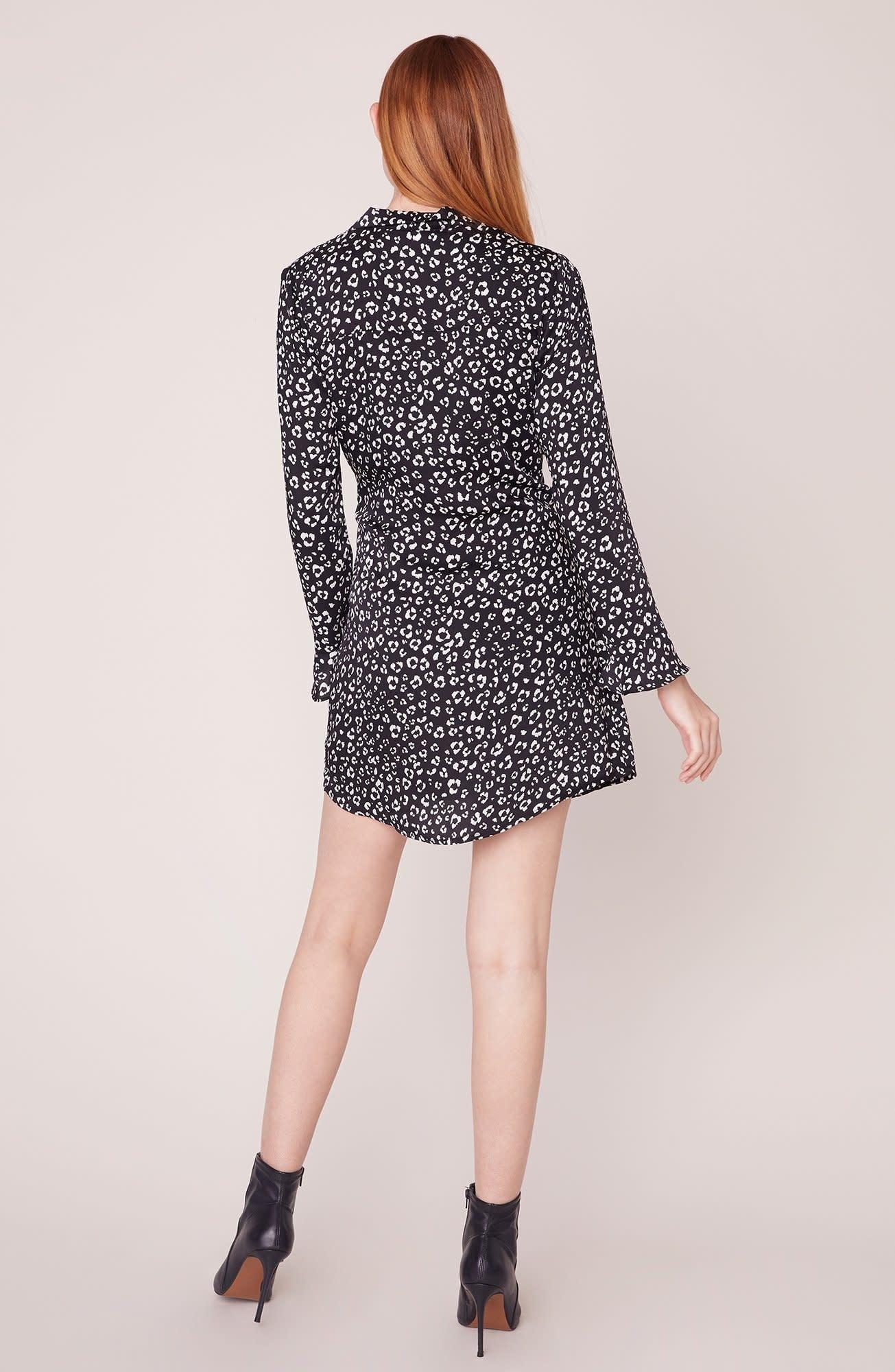 Jack by BB Dakota Cat's All Folks Leopard Dress