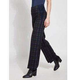 Lysse Ellis Printed Plaid Trouser