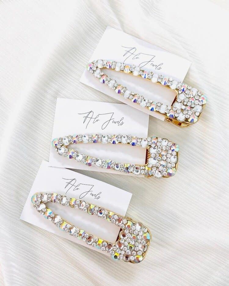 ALV Jewels Crystal Hair Clip