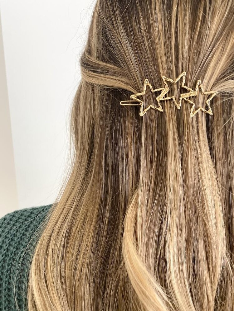 ALV Jewels Star Trio Hair Clip
