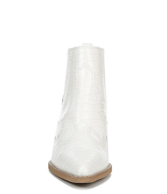 Sam Edelman Winona Ivory Western Boot