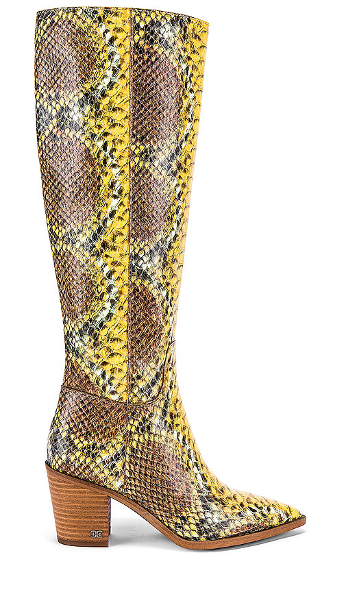 Sam Edelman Lindsey Knee High Yellow Boot