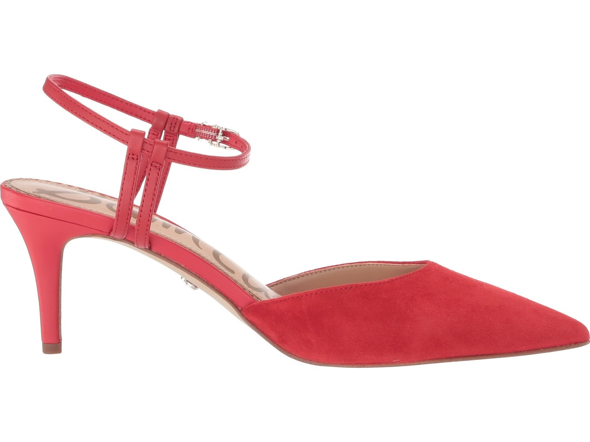 Sam Edelman Javin Red Kitten Heel