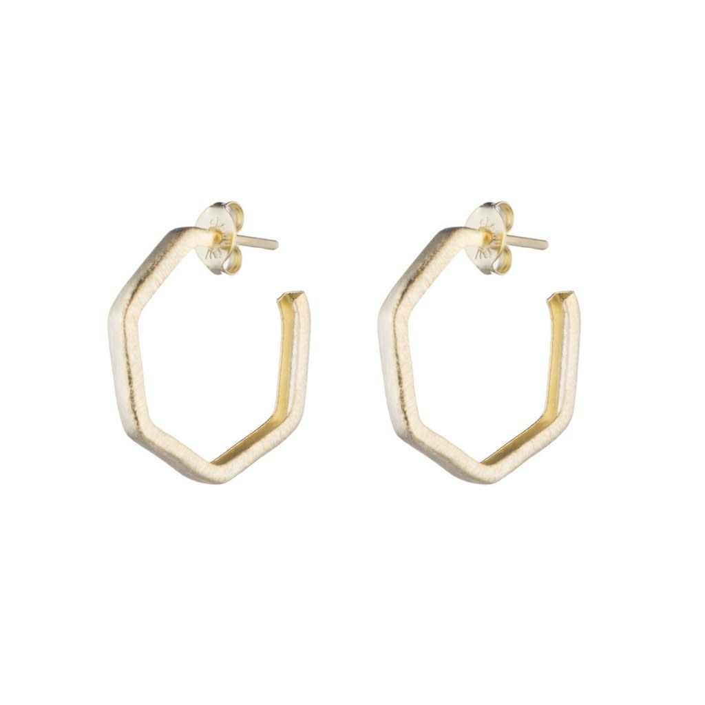 Sheila Fajl Lure Hoops Gold