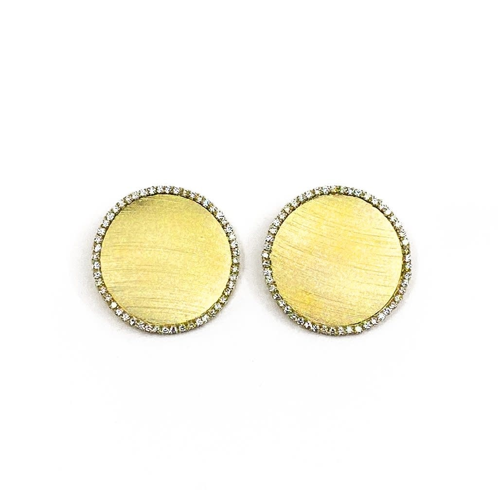 Sheila Fajl Verena Small Earrings Gold