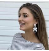 Sheila Fajl Nia Earrings Silver