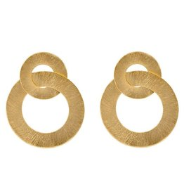 Sheila Fajl Anna Earrings Gold
