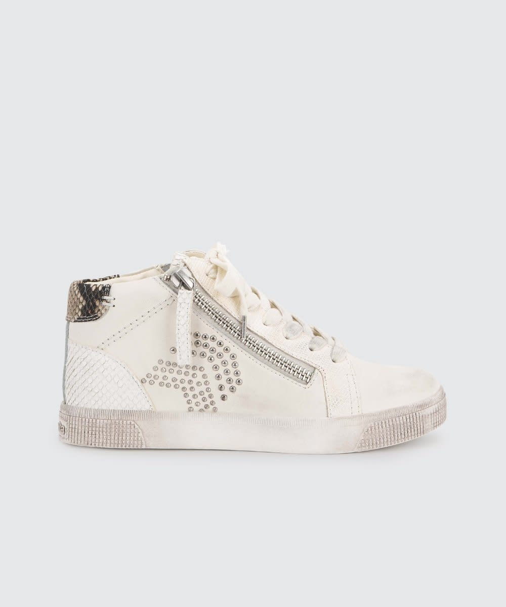 Dolce Vita Zonya White Sneaker