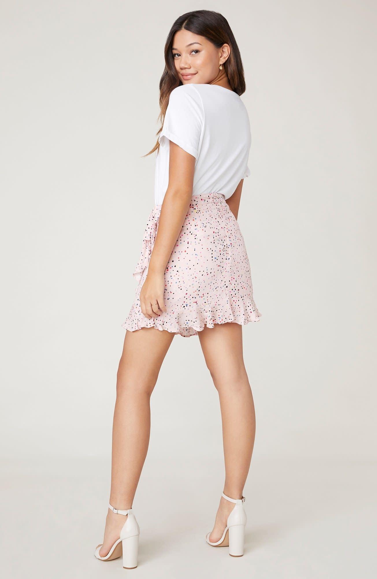 Jack by BB Dakota Reason To Party Wrap Skirt
