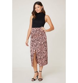 Jack by BB Dakota Spotty By Nature Leopard Midi Skirt