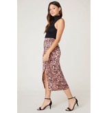 Spotty By Nature Leopard Midi Skirt