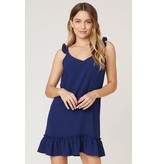 Shifted & Talented Navy Dress