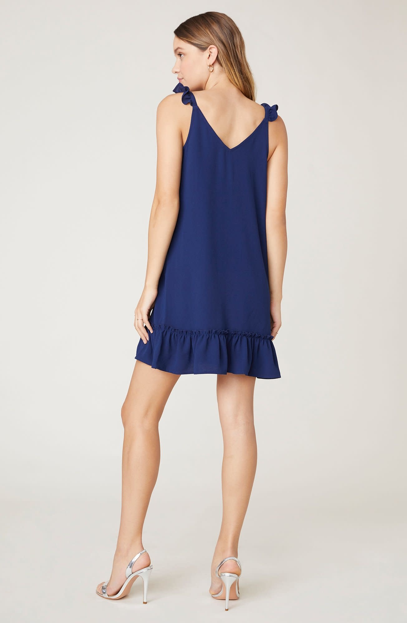 Jack by BB Dakota Shifted & Talented Navy Dress