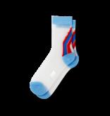 Fun Socks Women's Vintage Varsity Sheer Socks