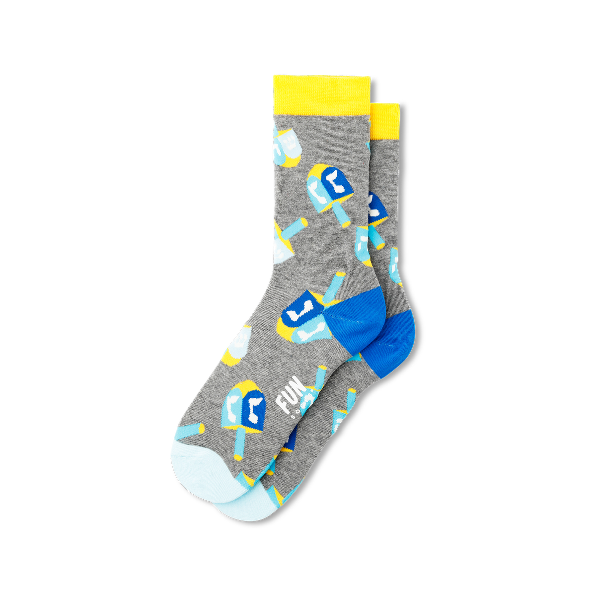 Fun Socks Women's Dreidel Socks