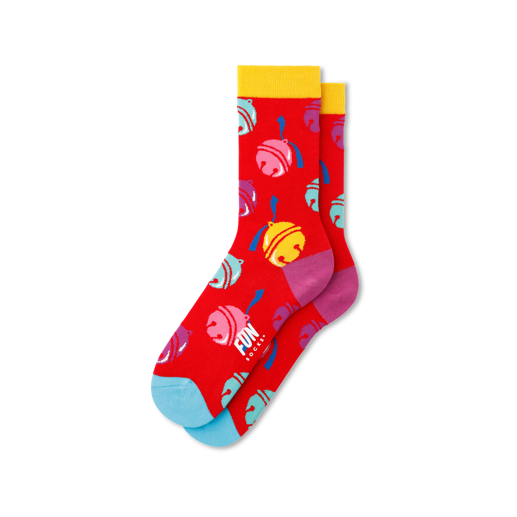 Fun Socks Women's Jingle Bell Socks