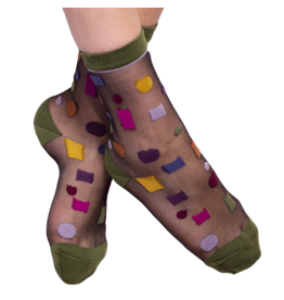 Fun Socks Hoover Anklet Sheer Sock