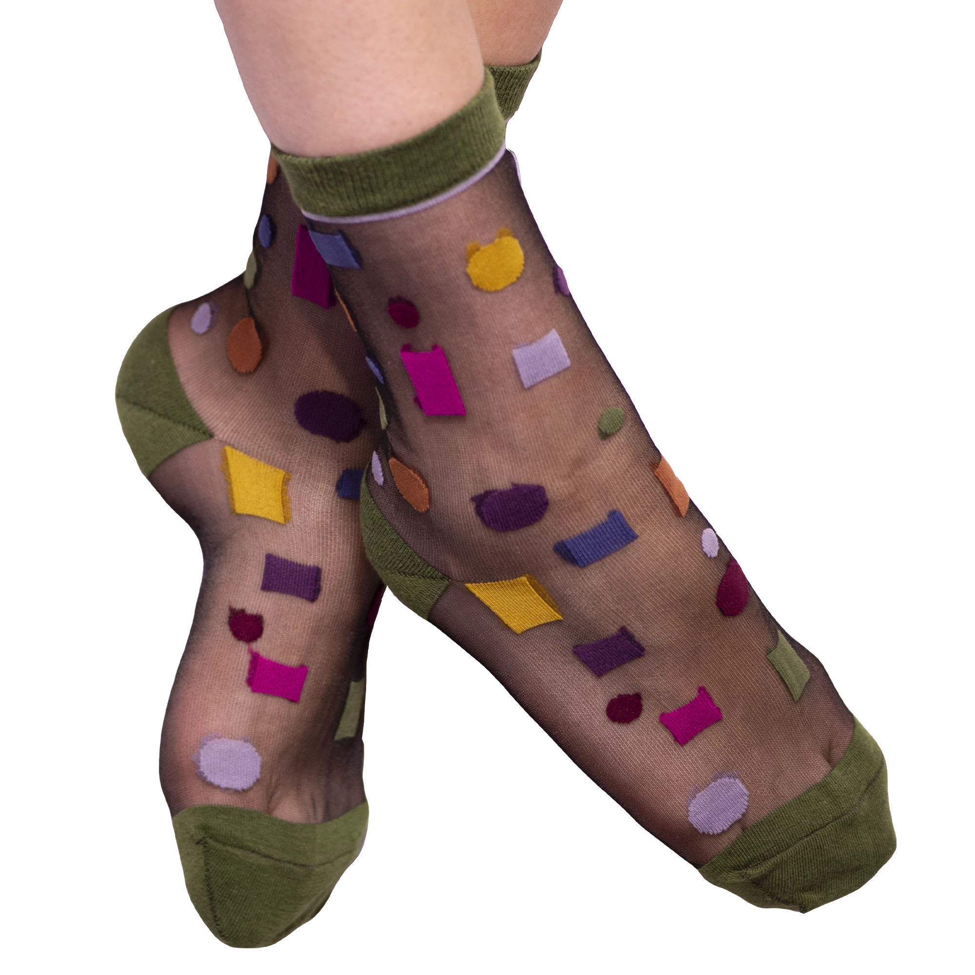 Fun Socks Hoover Anklet Sheer Sock