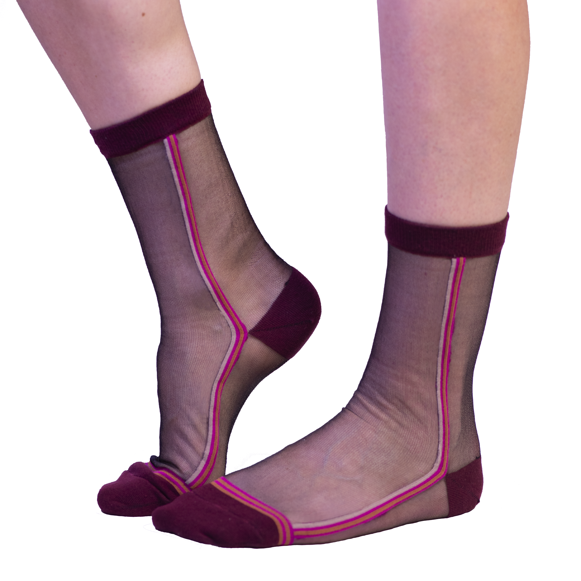 Fun Socks Willshire Anklet Sheer Sock