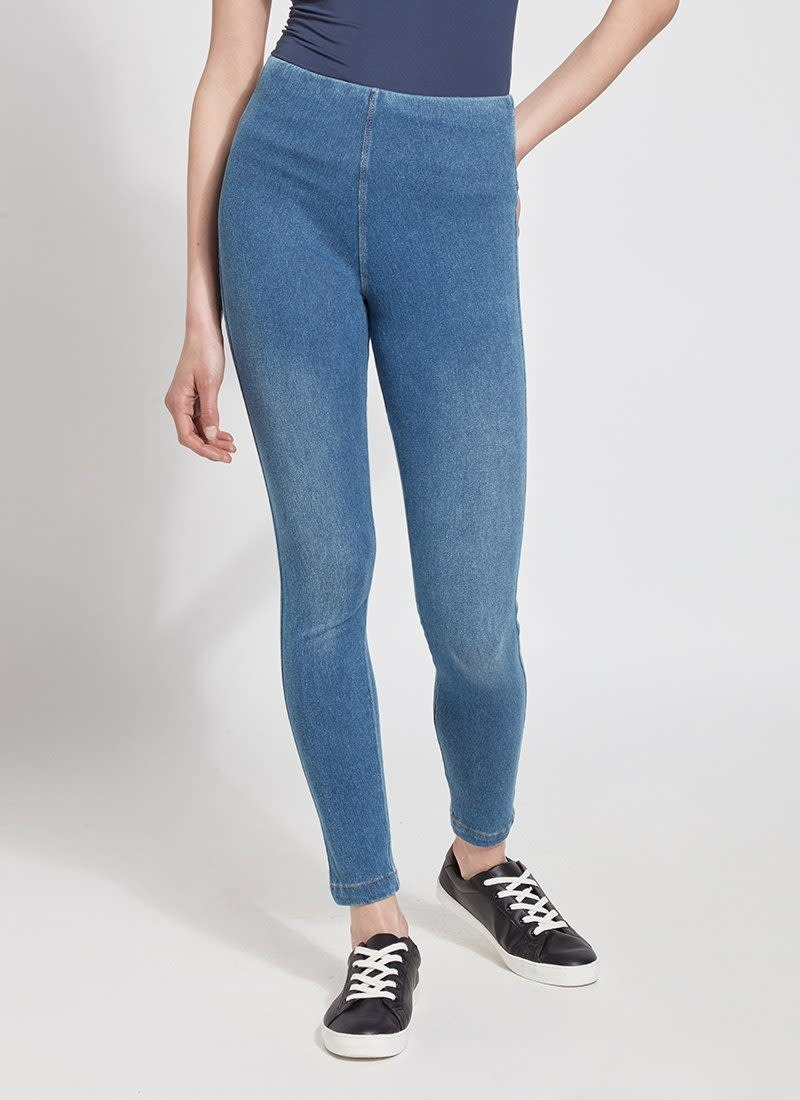 Lysse Toothpick Denim Mid Wash