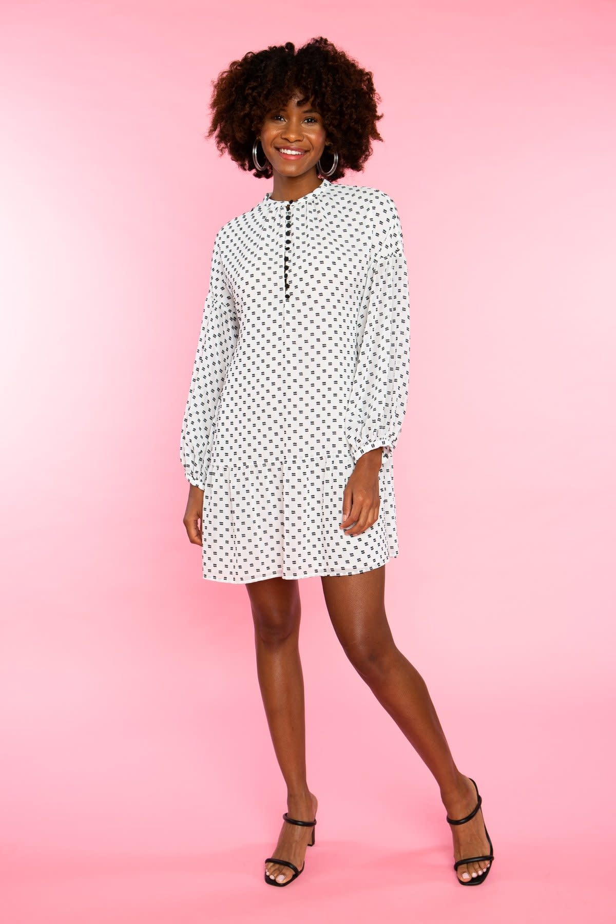 Crosby By Mollie Burch Fretland Dress in Dandy Dobby