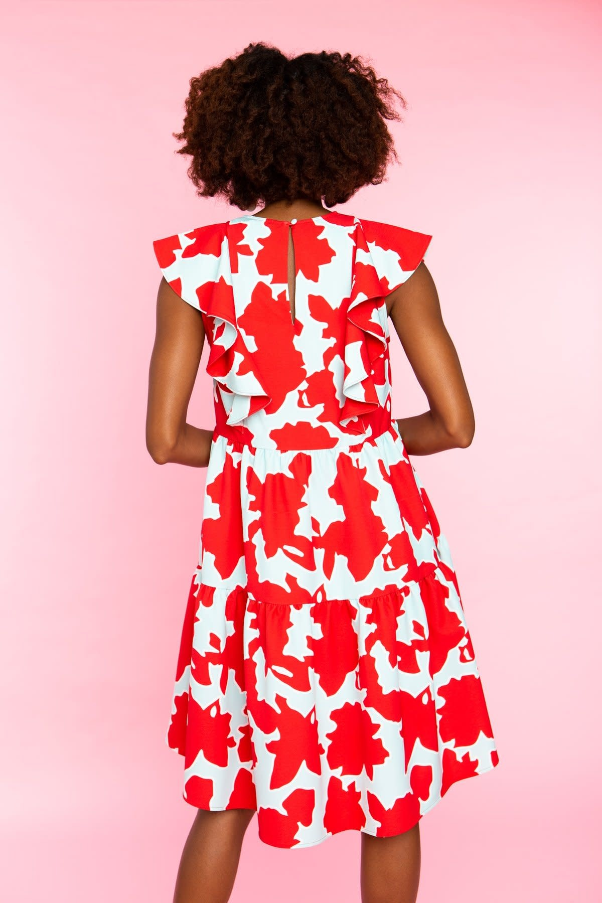 Crosby By Mollie Burch JoeJoe Dress in Azalea Blooms