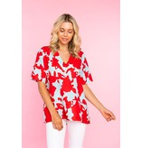 Crosby By Mollie Burch Suzie Tunic in Azalea Blooms