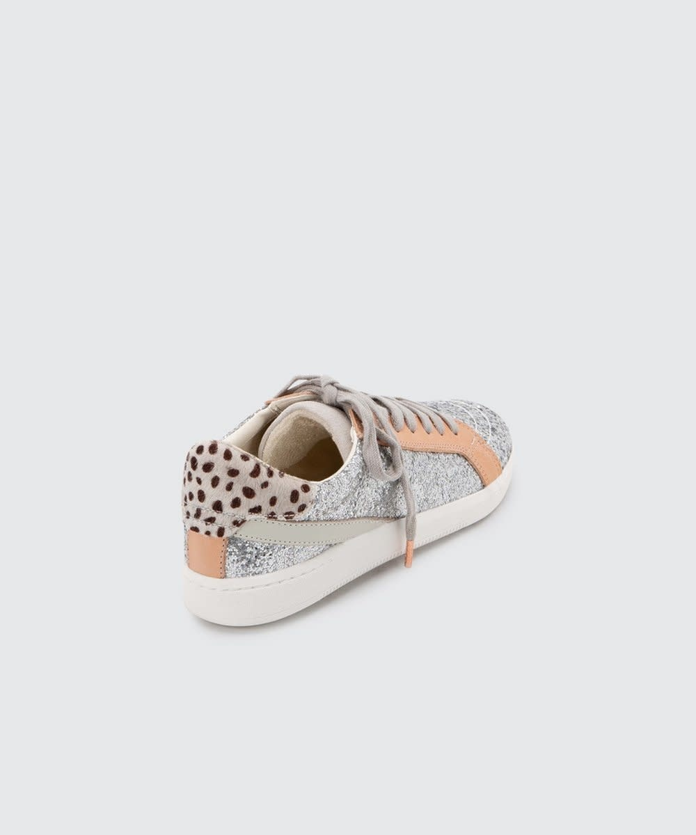 Dolce Vita Nino Sneakers Silver Glitter