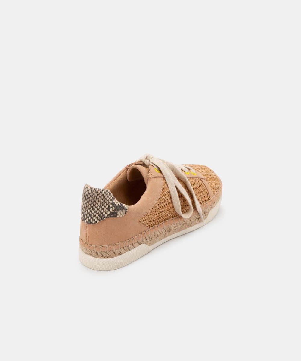 Dolce Vita Madox Sneaker Natural Raffia