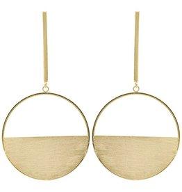 Sheila Fajl Avalon Earrings Gold